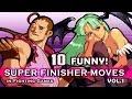 "10 ""FUNNY / WEIRD"" SUPER FINISHER MOVES in Fighting Games VOL.1"