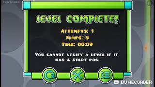 Учу как сделать свой уровень в Geometry dash