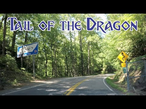 Tail Of The Dragon - Deal's Gap, North Carolina / Tennessee