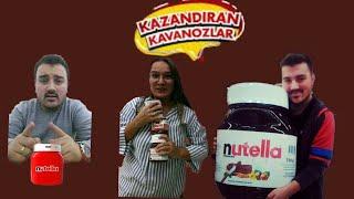 NUTELLA KAZANDIRAN KAVANOZLAR / NUTELLALARI DOLDURDUK! HEDİYELERİ KAPTIK!