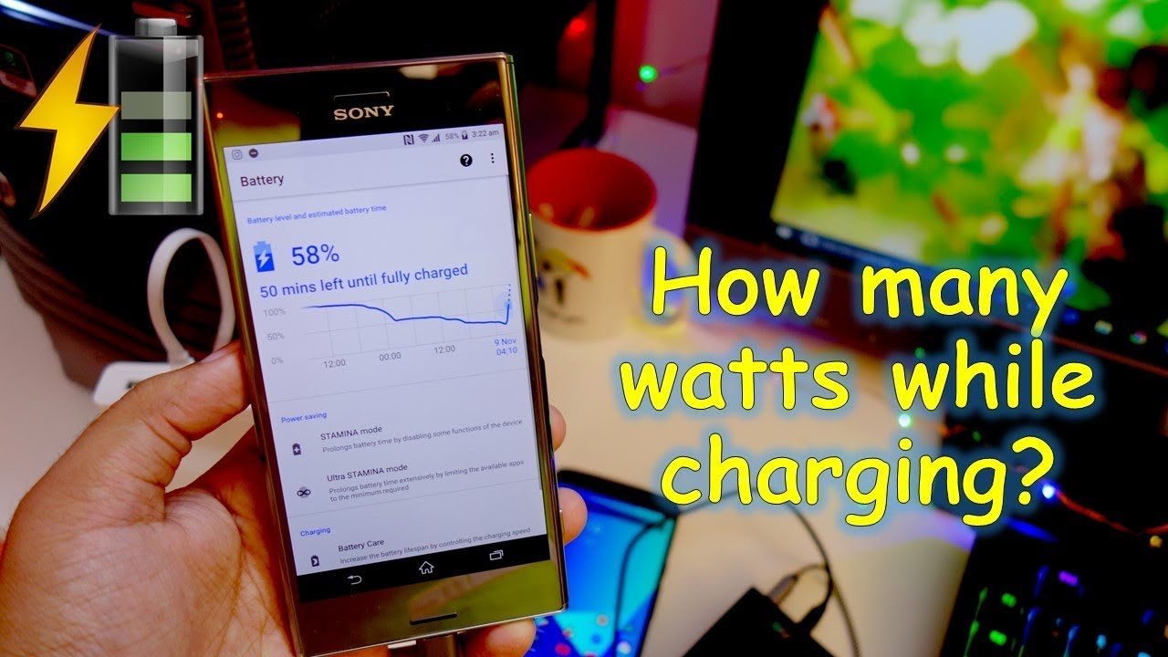 How Many Watts Does A Modern Smartphone And Bank Consume While Charging