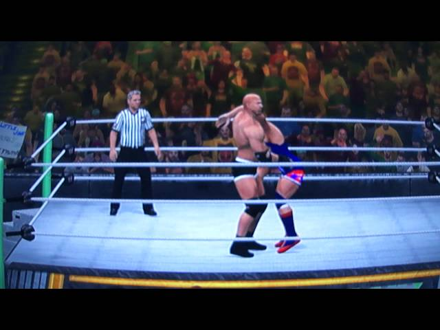 Goldberg Spear & Jackhammer WWE12 Travel Video