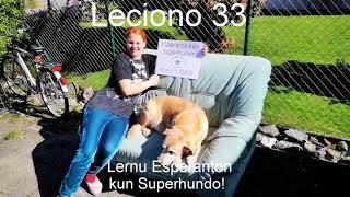 Lernu Esperanton kun Superhundo! – Leciono 33