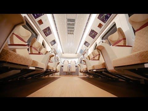 Qatar's brand new state of the art railway أخر تطورات شبكة سكك الحديد القطرية