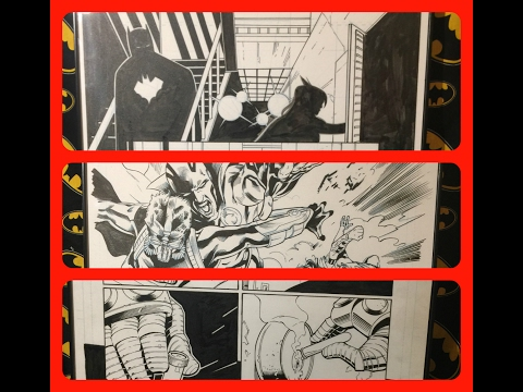 Original Comic Book Art, Interior Panels. Ep 107
