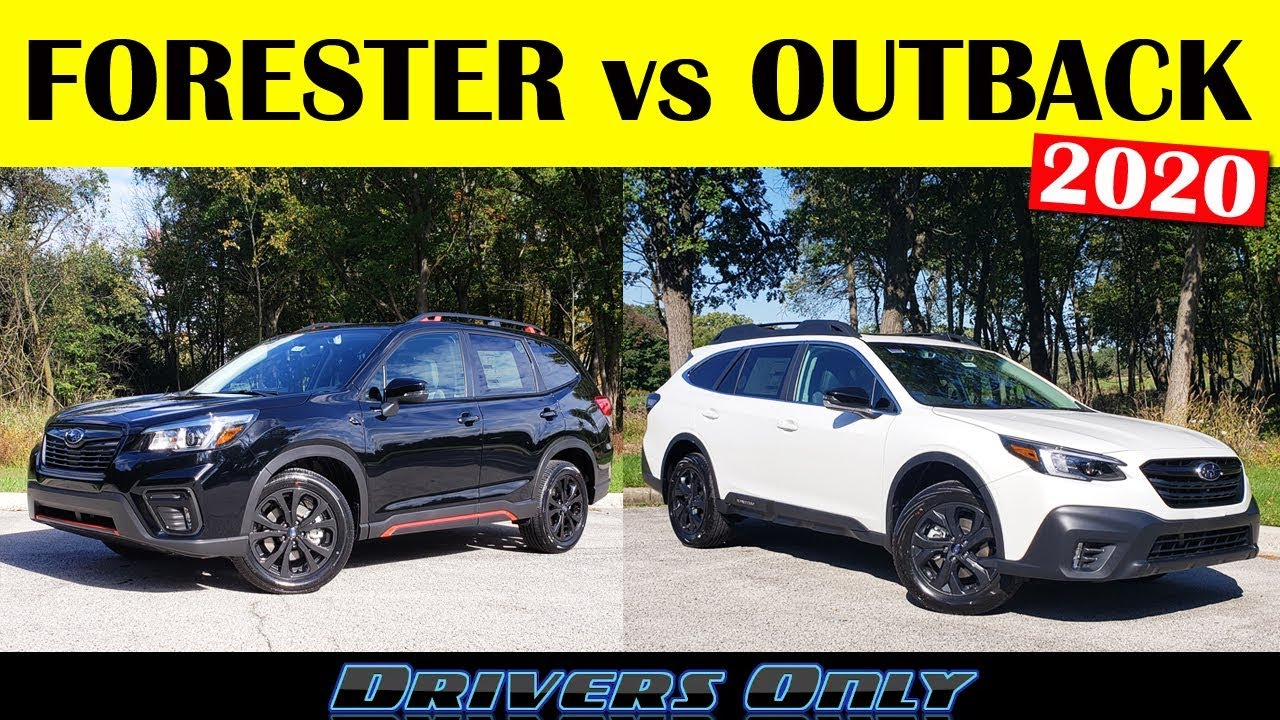 Forester Vs Outback >> 2020 Subaru Forester vs 2020 Subaru Outback - YouTube