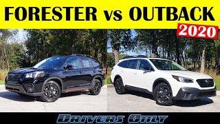 2020 Subaru Forester vs 2020 Subaru Outback