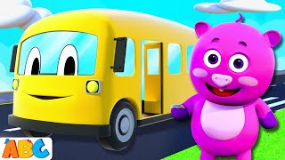 The Wheels On The Bus Go Round And Round - 3D Nursery Rhymes by All Babies Channel thumbnail