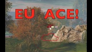 WOT - First Ace on EU Server! | World of tanks