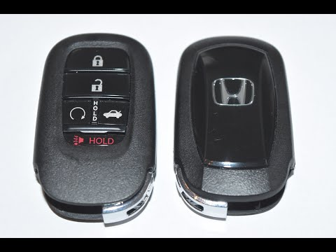 2022 Honda Civic / Accord Key Fob Battery Replacement   EASY DIY