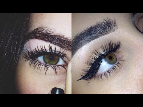 TUMBLR GIRL TUTORIAL | Getting Longer Lashes