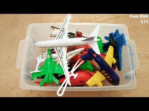 Mainan Pesawat Terbang, Helikopter, Pesawat Tempur Dalam Kotak