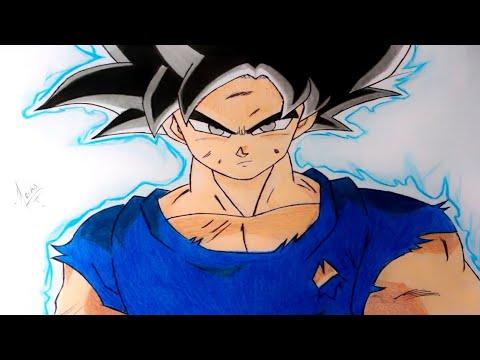 Goku Ultra Instinto Como Dibujar Youtube