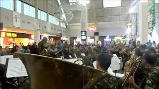 Apresentação da Banda da 10ª Região Militar do Ceará.