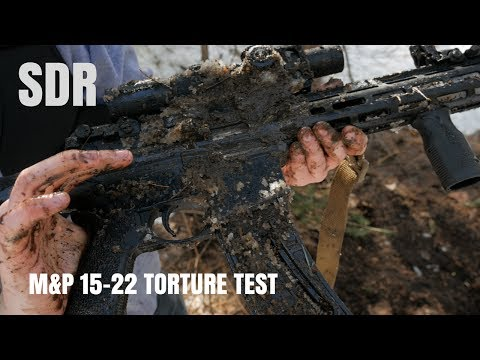 ARE YOU SERIOUS?!? Smith & Wesson M&P-15 22 Torture test