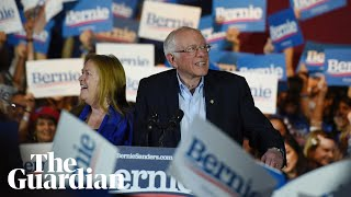 Gambar cover Bernie Sanders' rivals applaud his Nevada caucus win