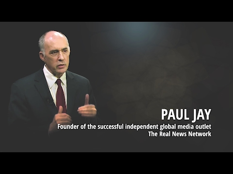 Paul Jay on Corporate Media, Donald Trump, 9/11, Climate Change & The Real News Network