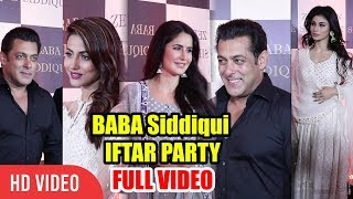 Baba Siddiqui Iftar Party 2018 FULL VIDEO | Salman Khan, Katrina Kaif, Hina Khan