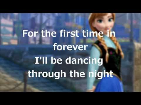 Lyrics: For the First Time in Forever Disneys Frozen
