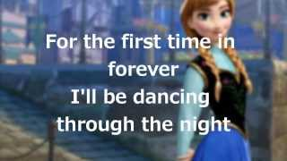 "Lyrics: ""For the First Time in Forever"" (Disney"