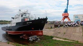 فيديو.. أسطول البحر الأسود الروسي يستلم أول سفينة لدراسة الأعماق