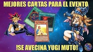 PREPARANDO EL EVENTO DE YUGI MUTO - 10 MEJORES CARTAS - YUGIOH DUEL LINKS ESPAÑOL