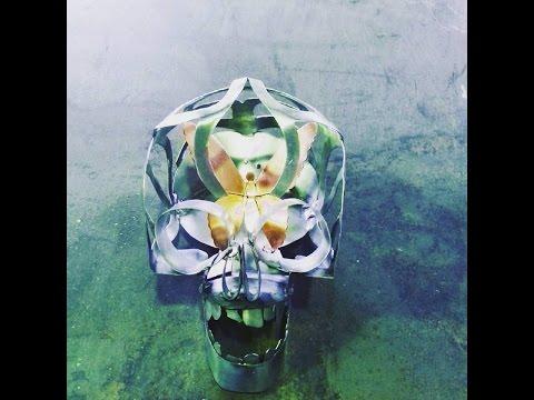 Créa'Zinc - Création artistique d'un crâne