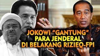 Download lagu CEMERLANG! JOKOWI TUTUP JALAN PARA JENDERAL DI BELAKANG RIZIEQ-FPI