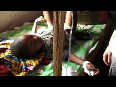 In the sleeping sickness ward - Banda, Democratic Republic of the Congo - MSF/DNDi