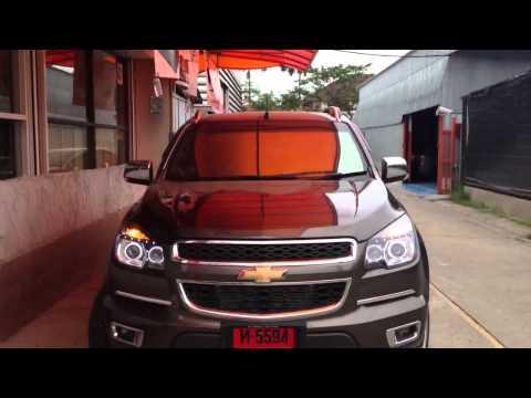 สุดยอดไฟหน้า Projector Chevrolet Corolado 2012 by BANKKIN XENON