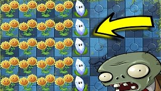 ☀️ INFINITE SUN +  🌾☄️MAGNIFYING GRASS =🔥 OVERPOWERED 🔥| Plants Vs Zombies 2!