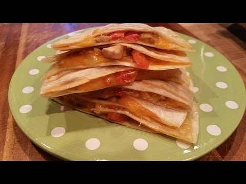 Mexican Chicken Quesadilla Recipes