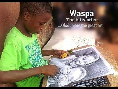 11-Year-Old Nigerian Boy Amazes The World With Hyperrealistic Drawings!