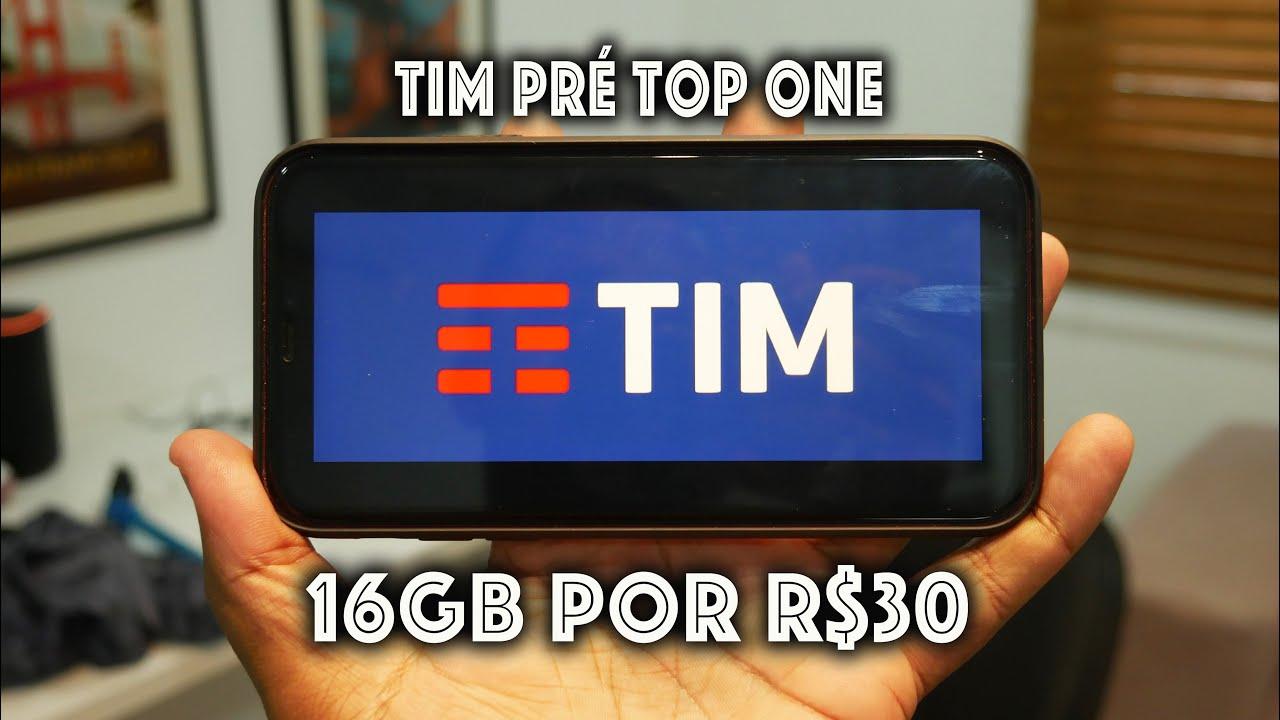 Agora! TIM lança plano com 16 GB de internet móvel por R$ 30
