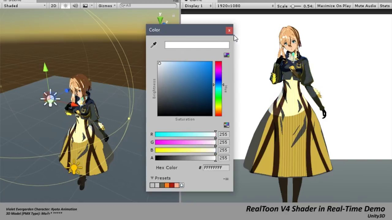 RealToon V4 Shader in Real-Time #3 (Unity3D)