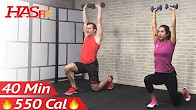 40 Min Tabata HIIT Workout with Weightsv  - Abs