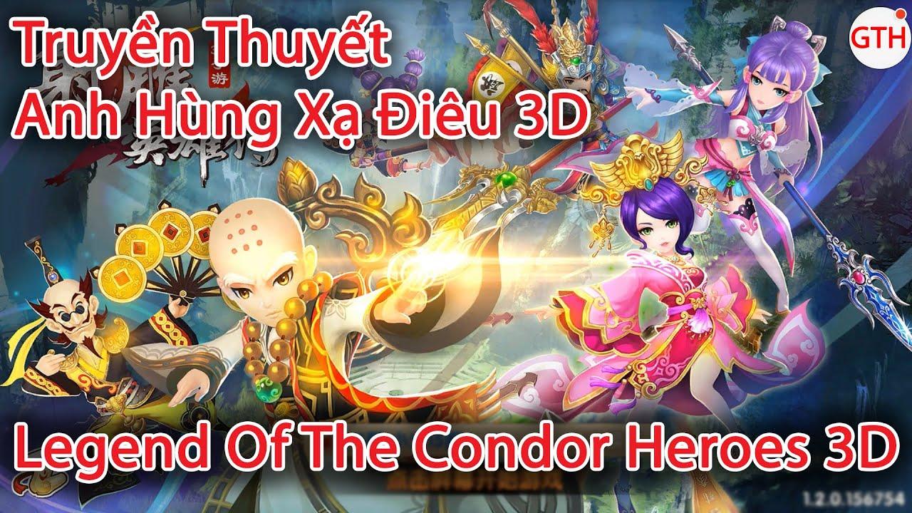 Legend of the Condor Heroes 3D  (Truyền Thuyết Anh Hùng Xạ Điêu 3D)   Android/IOS – Gameplay HD