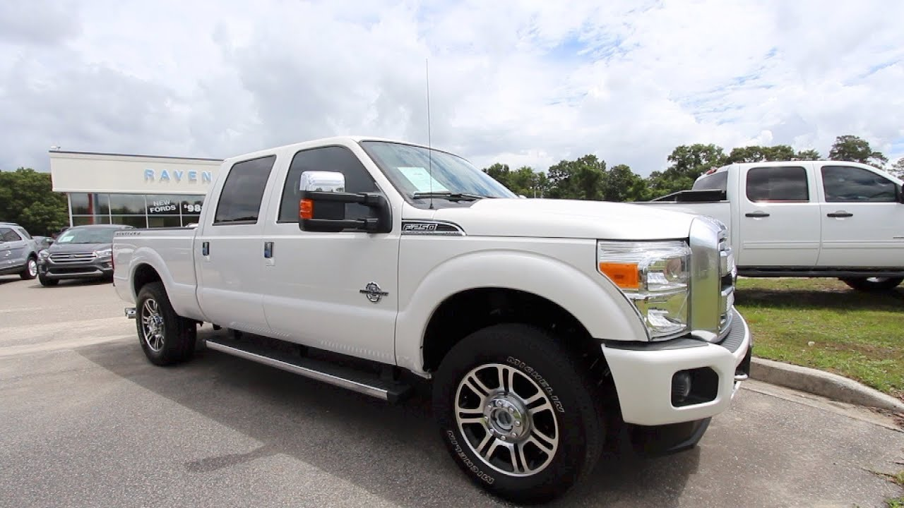 Taking A Tour Of This 2016 Ford F250 Platinum W Stroke Sel For Review Ravenel