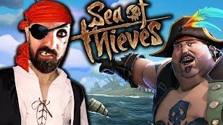 ARMADOS em PIRATAS  c/ Z3RO   SEA of THIEVES Gameplay