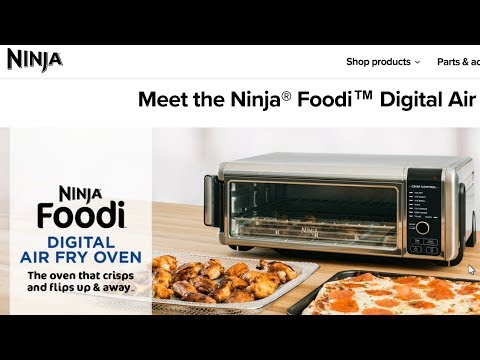 ninja-foodi-digital-air-fry-oven-introduction