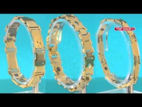 Cмотреть видео Магнитные браслеты