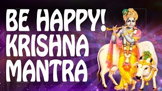 KRISHNA KRISHNA mantra ☼ HAPPINESS mantra of BLISS Hari 神 Powerful Mantras Meditation Music PM 2018