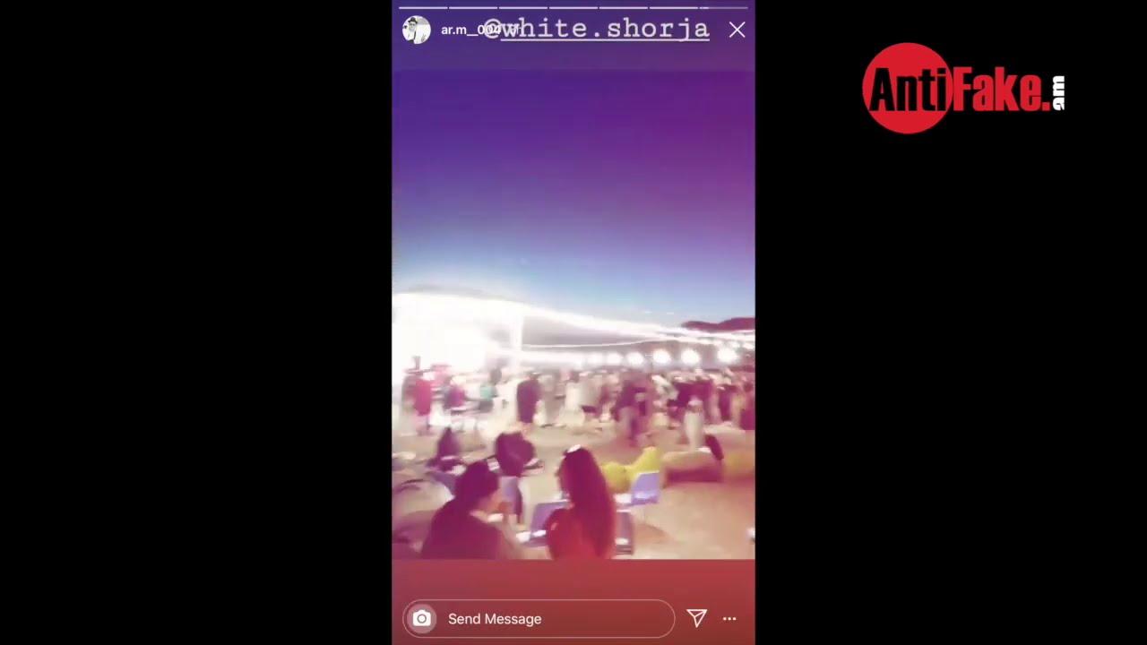 Տեսանյութ.Պատգամավոր Հայկ Սարգսյանի բազմամարդ ու նարգիլեով փարթին Սևանի ափին