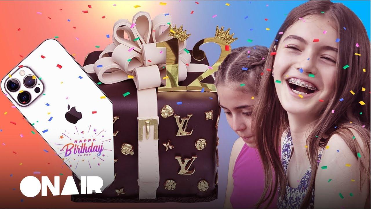 Happy Birthday  12 years  surprise 🎂📱