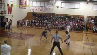 Acton Boxborough Varsity Boys Basketball @ Waltham 12/20/16