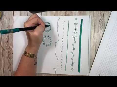 Hand Lettering ideas: doodles