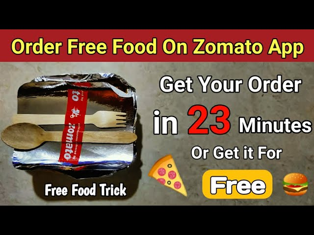 How To Get Zomato Order On-Time Or FREE 😍   Zomato Get Food For Free Policy   Zomato Promocodes