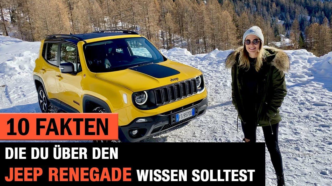 10 Fakten Die Du Uber Den 2020 Jeep Renegade Trailhawk Wissen Solltest 4x4 Offroad Review Test Youtube