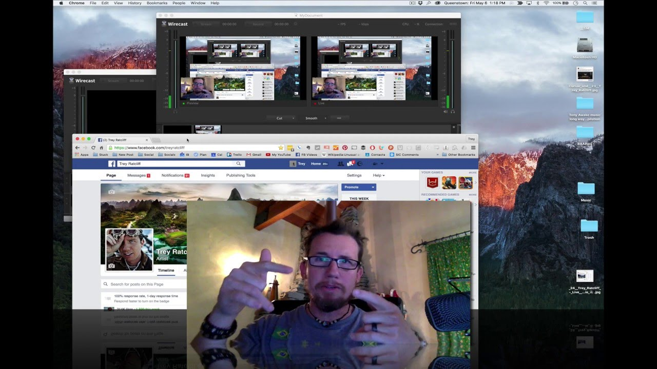 live video streaming software for pc