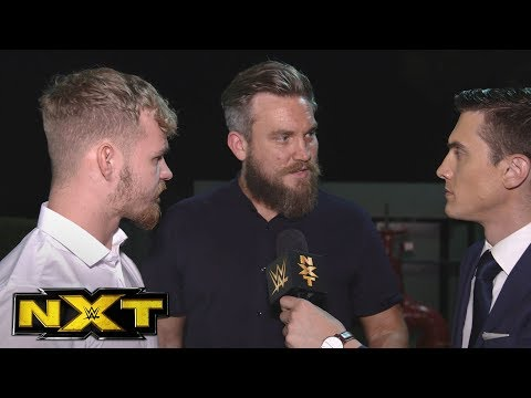 Tyler Bate & Trent Seven challenge Bobby Fish & Kyle O'Reilly: NXT Exclusive, Sept. 13, 2017